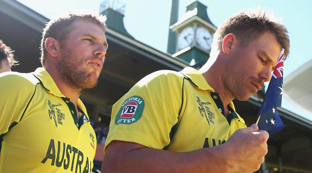 Fox Cricket ने ऑस्ट्रेलियाच्या 2023 वर्ल्ड कप संभाव्य प्लेयिंग XI लिस्टमधून आरोन फिंच ला वगळले, डेविड वॉर्नर नेव्यक्त केली निराशा
