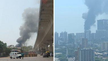 Mumbai Fire: शिवडी येथे लक्ष्मी विलास हॉटेलच्या गोदामाला भीषण आग; अग्निशमन दलाच्या 8 गाड्या घटनास्थळी दाखल