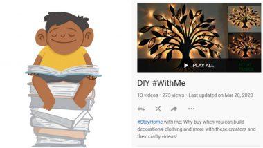केवळ Google 3D Animals नव्हे तर Bolo App ते YouTube वरील  DIY #WithMe... बच्चेकंपनीचा 21 दिवस लॉकडाऊनचा काळ सत्कारणी लागेल 'या' Google Apps Features सोबत!