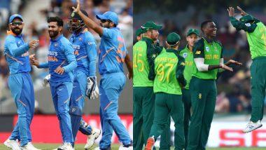 IND vs SA 1st ODI 2020 Live Streaming: भारत विरुद्ध दक्षिण आफ्रिका वनडेलाईव्ह सामना आणि स्कोर पहा Star Sports आणि Hotstar वर