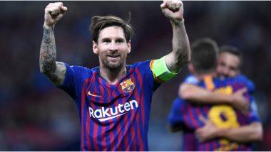 COVID-19 Outbreak: कोरोनाग्रस्तांसाठी लियोनेल मेस्सी सह बार्सिलोनाचे खेळाडू पगारामध्ये 70 टक्क्यांनी करणार कपात, सोशल मीडियावर शेअर केली माहिती