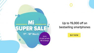 Mi Super Sale आजपासून सुरु; Redmi Note 7 Pro, Note 8 Pro यांसारख्या स्मार्टफोन्सवर जबरदस्त डिस्काऊंट