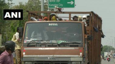 नागपूर: मूळ गावी फुकटात सोडण्याचे आश्वासन देत प्रत्येकी 100 रुपये उकळल्याचा स्थलांतरित कामगारांचा ट्रक चालकावर आरोप