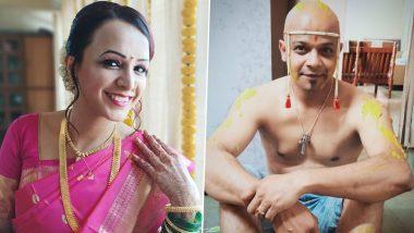 Bigg Boss Marathi 2 फेम पराग कान्हेरे मैत्रिण मुक्ता भातखंडे सोबत अडकला विवाहबंधनात; इथे पहा लग्न सोहळ्याचे फोटो