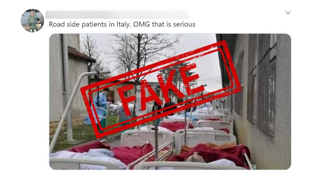 Fact Check: कोरोना व्हायरसच्या रुग्णांवर रस्त्यावर होतोय उपचार? इटली मधील व्हायरल फोटोचे सत्य जाणून घ्या