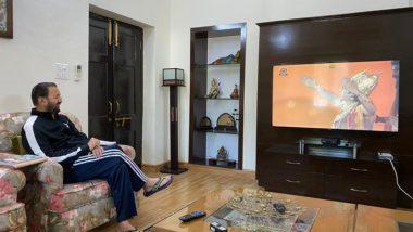 Coronavirus: प्रकाश जावडेकर घरात बसून पाहणार रामायण, सरकार देतंय कोरोना व्हायरस विरोधात लढा