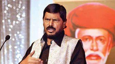 Ramdas Athawale: मुंबईतील आंदोलन हे केवळ पब्लिसिटी स्टंट; रामदास आठवले यांचा आरोप