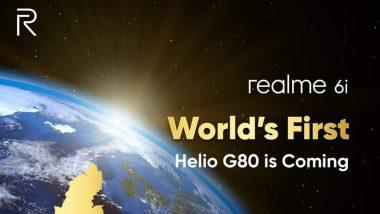 Realme 6i ठरणार जगातील प्रथम MediaTek Helio G680 चिपसेट स्मार्टफोन, 17 मार्चला होणार लॉन्च
