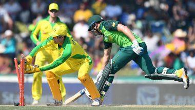 SA vs AUS 2nd ODI 2020 Live Streaming: दक्षिण आफ्रिका विरुद्ध ऑस्ट्रेलिया वनडेसामना लाईव्ह आणिस्कोर पहा Sony SIX वर