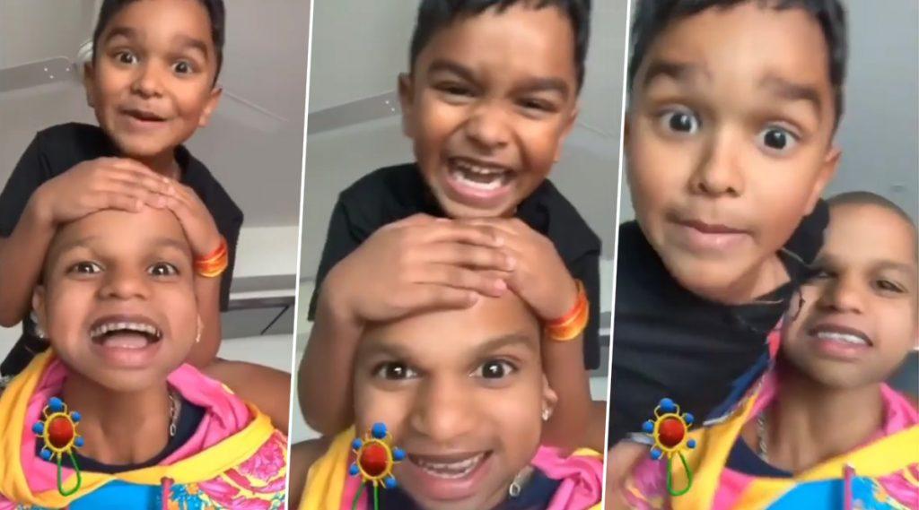 Video: शिखर धवनने कोरोना व्हायरसपासून बचाव करण्याचे केले आवाहन, मुलगा Zoravar सोबतचा मजेदार व्हिडिओ पाहून तुम्हालाही हसू फुटेल