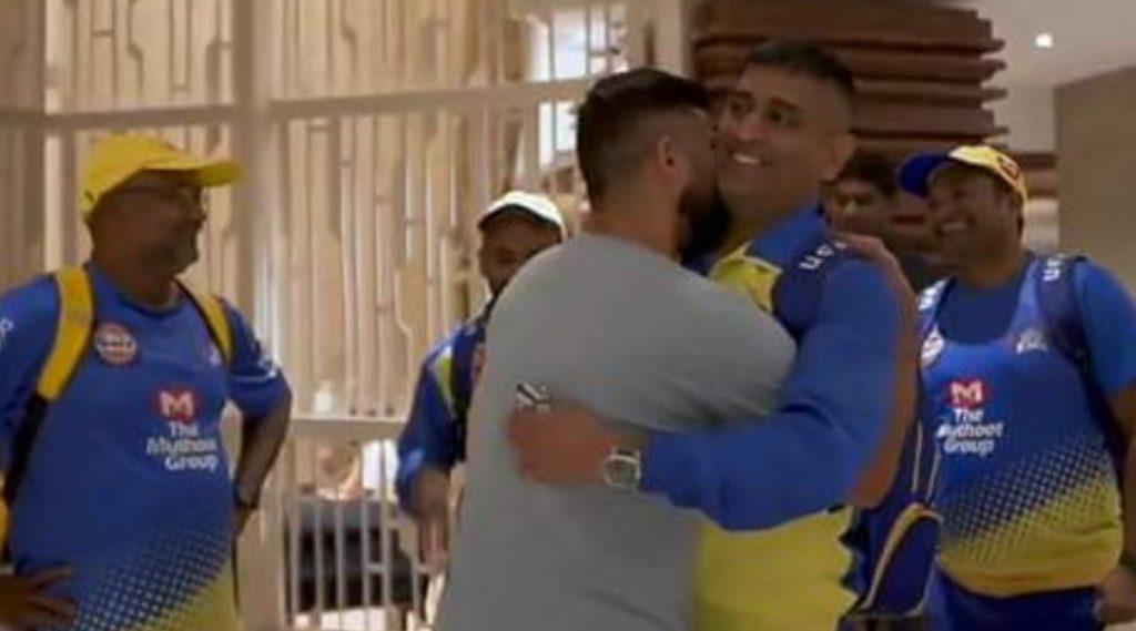 IPL 2020: सुरेश रैना-एमएस धोनीच्या भेटीचा व्हिडिओ सोशल मीडियात व्हायरल; Thala आणि Chinna Thala च्या मैत्रीने नेटिझन्स झाले भावुक