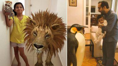 How To Open Google 3D Animal: Lion, Giant Panda, Penguin, Tiger यांसारखे प्राणी प्रत्यक्ष पाहण्यास मोबाईलमधील कमी जागेमुळे अडथळा येत असेल तर काय कराल? पाहा सोप्या स्टेप्स