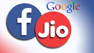 Reliance Jio कंपनीत 10% भागिदारीसाठी Facebook इच्छुक; Google सुद्धा स्पर्धेत असल्याची चर्चा