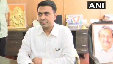 गोव्यात 'जनता कर्फ्यू' पुढील 3 दिवसांपर्यंत सुरु राहणार- मुख्यमंत्री प्रमोद सावंत