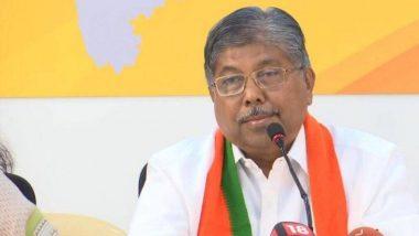 Chandrakant Patil Criticizes Maha Vikas Aghadi: महाविकास आघाडी सरकार त्यांच्या अंतर्विरोधामुळे पडेल, आम्ही ते पाडण्यात भूमिका बजावणार नाही- चंद्रकांत पाटील
