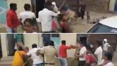 बीड: कोरोनाच्या पार्श्वभुमीवर घराबाहेर थांबण्यास विरोध केल्याने पोलिसांना टोळक्याकडून मारहाण