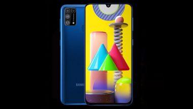 Samsung Galaxy M31 स्मार्टफोनचा आज पहिला सेल; आकर्षक ऑफर्स स्मार्टफोन खरेदी करण्याची खास संधी
