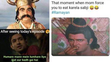 Ramayana Characters Memes: रामानंद सागर यांच्या रामायण मालिकेतील 'कुंभकर्ण', 'लक्ष्मण' पात्रावरील मीम्सचा सोशल मीडियात पाऊस!