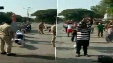 पुणे: Lockdown चे नियम मोडणा-यांना पोलिसांनी करायला लावले 'सूर्यनमस्कारापासून' ते 'जम्पिंग जपाक' सारखे व्यायामाचे प्रकार, Watch Video