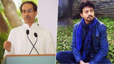 Irrfan Khan Dies: इरफान खान याला मुख्यमंत्री उद्धव ठाकरे यांची श्रद्धांजली;  ट्विट करत व्यक्त केल्या भावना