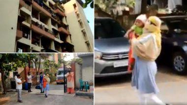 कल्याण: 6 महिन्याच्या बाळाने केली कोरोनावर मात; सोसायटीतील नागरिकांनी केलेलं स्वागत पाहून येईल डोळ्यात पाणी, पाहा व्हिडिओ