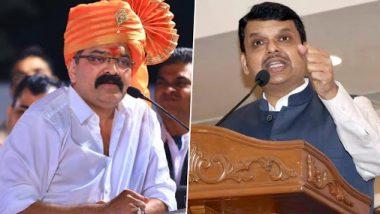 महाराष्ट्राचे गृहनिर्माण मंत्री जितेंद्र आव्हाड यांना मंत्रिमंडळातून बडतर्फ करा- देवेंद्र फडणवीस