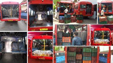 Covid 19 रुग्णांसाठी BEST Buses चे अॅम्ब्युलन्स मध्ये रुपांतर; मुंबई मधील वाढत्या कोरोना प्रादुर्भावामुळे BMC चे महत्त्वपूर्ण पाऊल