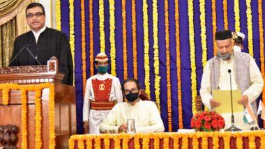 न्या. दीपांकर दत्ता यांनी आज मुंबई उच्च न्यायालयाच्या मुख्य न्यायमूर्ती पदाची घेतली शपथ