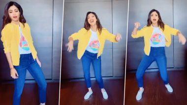 शिल्पा शेट्टी चा टॉलिवूड स्टाईल TikTok व्हिडिओ, तामिळ स्टार थलापति विजय चा गाण्यावर धरला ठेका, Watch Video