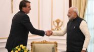 ब्राझील राष्ट्राध्यक्ष Jair Bolsonaro यांनी Hydroxychloroquine च्या मदतीसाठी मानले PM Narendra Modi यांचे आभार!