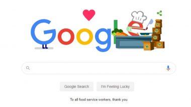कोराेना विषाणूशी लढणाऱ्या मदतगारांना धन्यवाद Google Doodle: गुगलने मानले Coronavirus Pandemic दरम्यान फूड डिलिव्हरी पुरवणाऱ्यांचे अॅनिमेटेड डुडलच्या माध्यमातून आभार!
