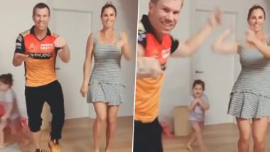 VIDEO: डेविड वॉर्नर याने पत्नी Candice सह तेलगू गाणे Butta Bomma वर केला मजेदार डांन्स, स्टार अभिनेता अल्लू अर्जुन म्हणाला धन्यवाद