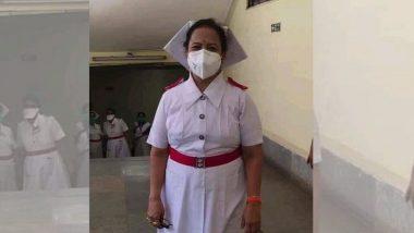 COVID19: मुंबई च्या महापौर किशोरी पेडणेकर यांचा हटके उपक्रम; परिचारिकाच्या वेशात केली नायर रुग्णालयात एंट्री (Watch Video)