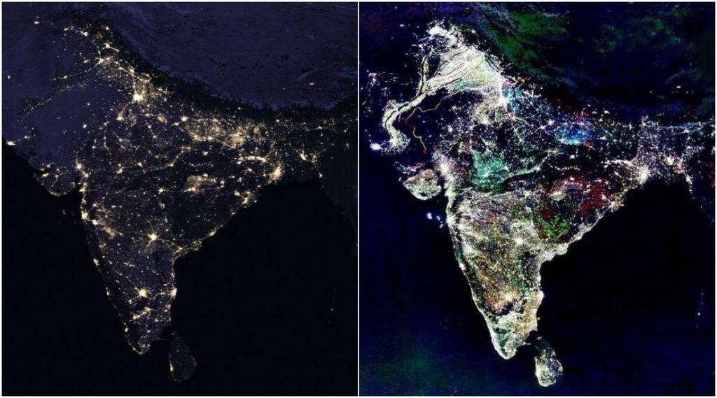 Fact Check: पंतप्रधान नरेंद्र मोदी यांच्या #9PM9Minutes या उपक्रमावेळी सोशल मिडियावर व्हायरल झालेल्या नासा उपग्रहाच्या फोटोंमागील सत्य जाणून घ्या सविस्तर