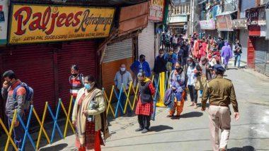 Coronavirus: हिमाचल प्रदेश सरकारकडून लोकांना दिलासा, रविवारपासून कर्फ्यू कालावधी शिथिल करण्याचा घेतला निर्णय