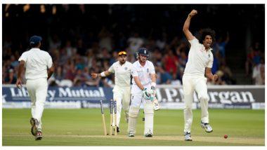 इशांत शर्मा ने इंग्लंडविरुद्ध 2014 लॉर्ड्स टेस्टदरम्यानएमएस धोनी बरोबर मजेदार चर्चेचा केलाखुलासा (VIDEO)