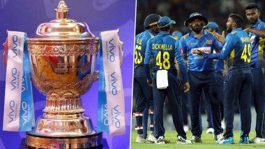 IPL 2020: बीसीसीआयने टूर्नामेंट स्थगित केल्यावर श्रीलंका बोर्डाने आयपीएलचे आयोजन करण्याची दिली ऑफर