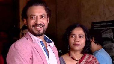 बॉलिवूड दिवगंत अभिनेता इरफान खान ची पत्नी सुतापा ने इरफान ने लावलेल्या झाडांचा फोटो शेअर करत दिला आठवणींना उजाळा