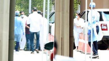 Rishi Kapoor Funeral: अभिनेते ऋषी कपूर यांच्या निधनानंतर करिना कपूर, सैफ, आलिया भट्ट पोहचले  Reliance Foundation Hospital मध्ये! चंदनवाडी स्मशानभूमीत होणार अंतिम संस्कार (View Pics)