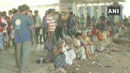 मुंबई येथील 250 स्थलांतरीत कामगारांना राहुल तरुण मित्र मंडळ असोसिएशन तर्फे अन्नदान