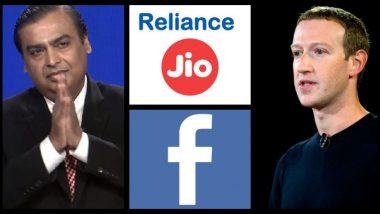 Reliance-Facebook Deal: मुकेश अंबानी यांची रिलायन्स जिओ आणि फेसबुक यांच्यातील व्यवहाराचे इंगित काय?