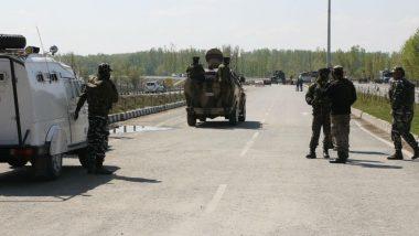 जम्मू कश्मीर: कुलगाम भागात दहशतवादी आणि सुरक्षा रक्षकांमध्ये चकमक;  4 दहशतवादी ठार