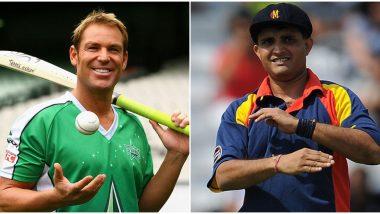 भारतविरुद्ध खेळल्या सर्वोत्तम XI ची शेन वॉर्न ने केली निवड; सौरव गांगुली कर्णधार तर लक्ष्मण, धोनी आणि विराट कोहलीला वगळले