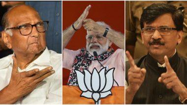 शरद पवार, संजय राऊत यांनी पंतप्रधान मोदींकडे महाराष्ट्राच्या राज्यपालांविषयी व्यक्त केली नाराजी