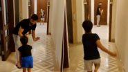 Coronavirus लॉकडाउन काळात सुरेश रैना आणि मुलगी ग्रासियाने घरातच लुटला गल्ली क्रिकेटचा आनंद, पाहा व्हिडिओ