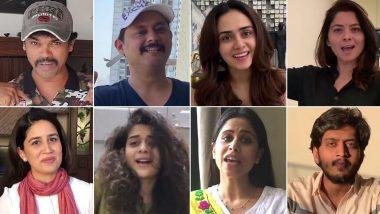 Tu Chal Pudha Song: अत्यावश्यक सेवांमध्ये असणाऱ्या कर्मचाऱ्यांना मराठी कलाकारांचा मानाचा मुजरा; अंकुश चौधरी, स्वप्निल जोशी, सुबोध भावे, मुक्ता बर्वे अशा 32 लोकांनी एकत्र येऊन सादर केले 'तू चाल पुढं' गाणे (Video)
