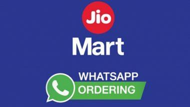 JioMart ने व्हॉट्सअॅपवर सुरु केली Online Shopping ची चाचणी; नवी मुंबई, ठाणे व कल्याण येथे सुविधा उपलब्ध, जाणून घ्या कशी द्यावी ऑर्डर
