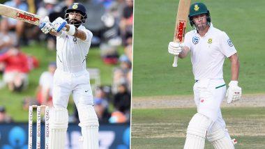 विराट कोहली -एबी डीव्हिलियर्स यांनी निवडली भारत-दक्षिण आफ्रिकेच्या दिग्गजांची टीम, 'हा' वर्ल्ड कपविजेता बनला कर्णधार