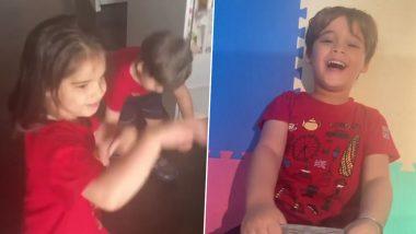 करण जौहर च्या मुलांचा 'आंख मारे' गाण्यावर क्युट डान्स सोशल मिडियावर व्हायरल, Watch Video