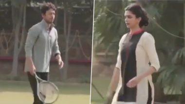 दीपिका पादुकोण ने इरफान खान सोबत बॅडमिंटन खेळतानाचा व्हिडिओ केला शेअर, या दिवंगत अभिनेत्याला केली 'ही' विनंती